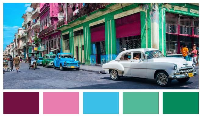 Cuban Palette